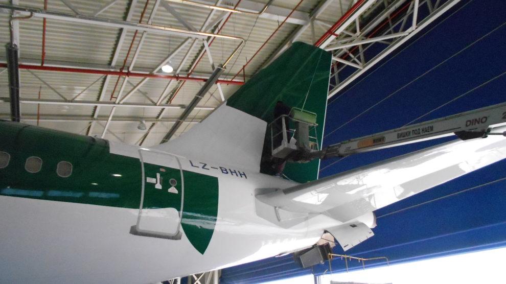 Брандиране на самолет Airbus A320 LZ-BHH
