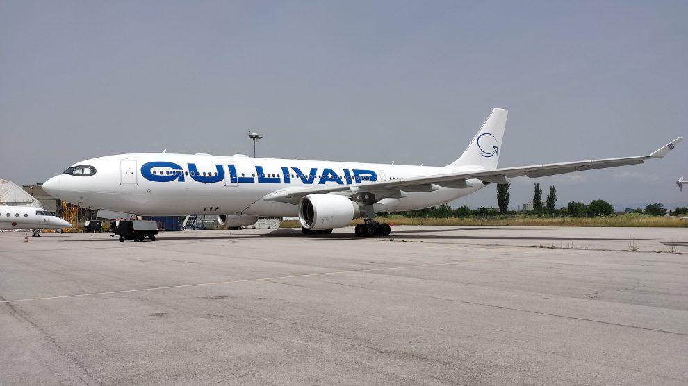 Брандиране на самолет Airbus A330-200 LZ-AWY, бранд GULLIVAIR